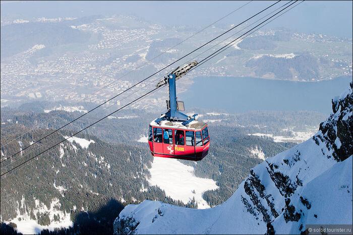 Горнолыжный туризм в Швейцарии Лаво - регион Швейцарии