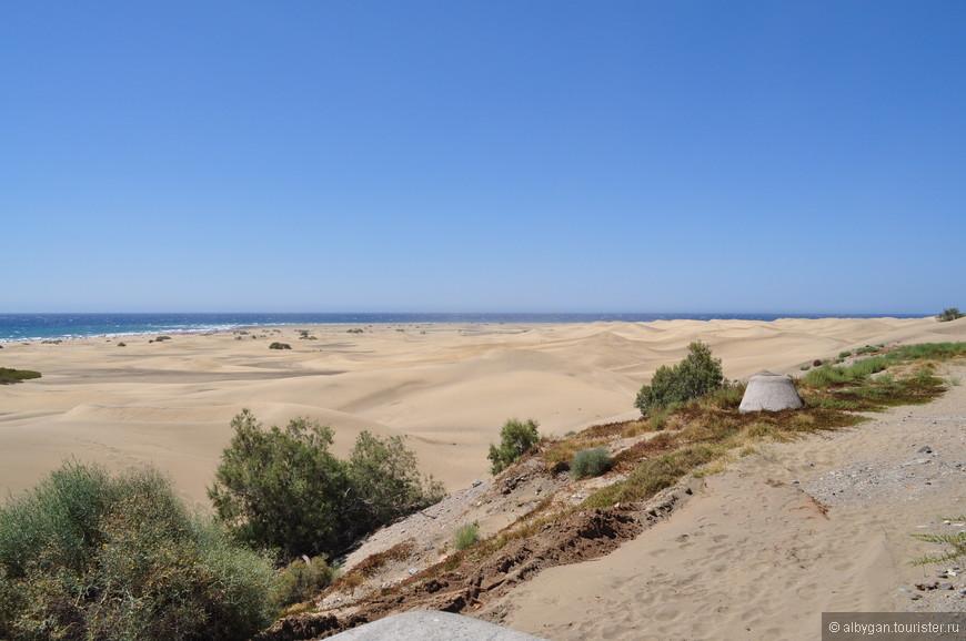 Дюны. Ну, чем не Сахара?