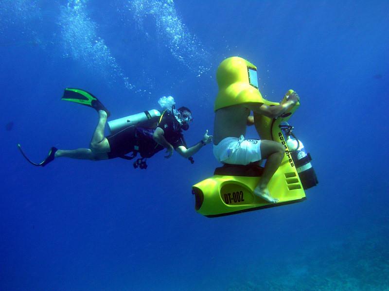 подводные скутеры видео