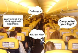 RyanAir намерена использовать на рейсах стоячие места