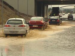 В Испании из-за дождей были затоплены курортные районы