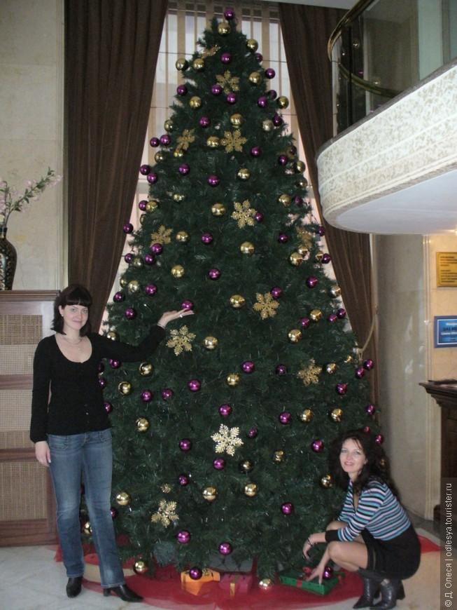 новогодняя ёлка в отеле Princess Ortakoy