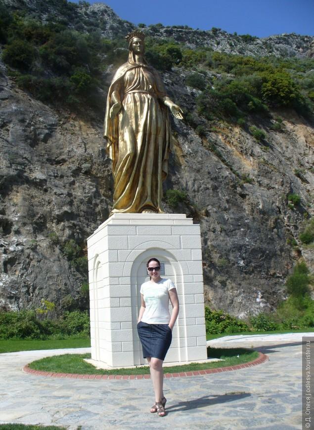 Эфес, памятник Богородице Марии
