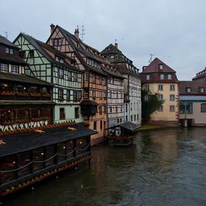 Страсбург. Вечер перед Новым годом.