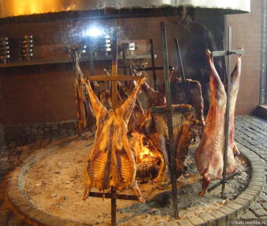 Баранина на вертеле, Аргентина
