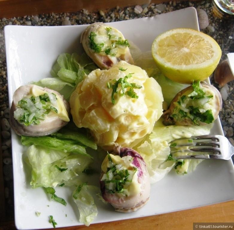 Локос, Чили. Вкуснейший деликатес из моллюсков Локос, которые водятся только у берегов Чили!