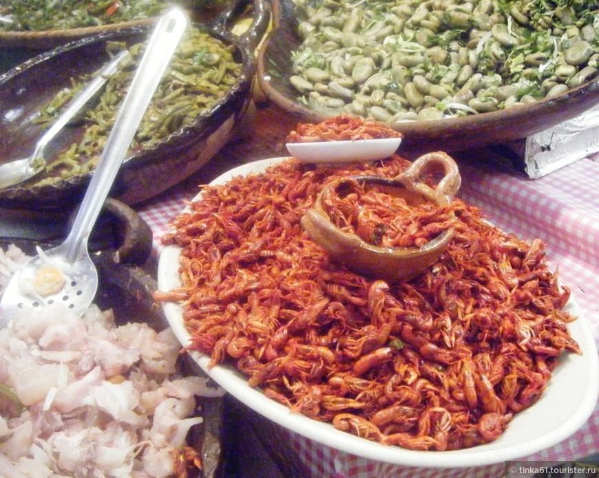 Мексиканские деликатесы, саранча и прочее. Мексика