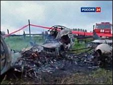 Под Красноярском разбился пассажирский самолет