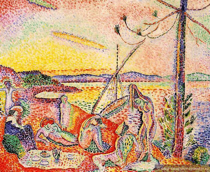 Henri Matisse, Luxe, Calme et Volupté, 1904