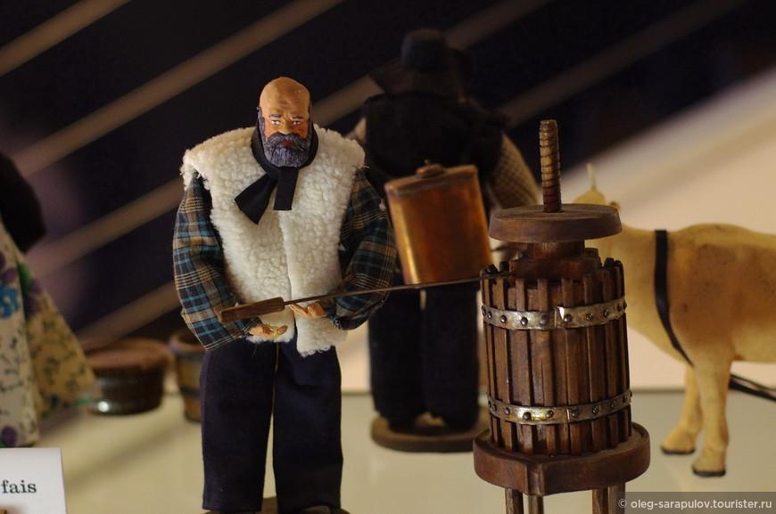 Музей вина в хозяйстве Бротте