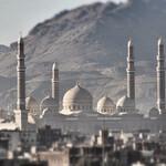 Одна из самых больших мечетей в мире.