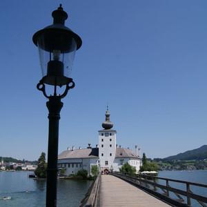 Замок Орт. Гмунден, Австрия.