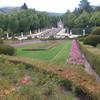 Сад в Ла Гранха де Сан Ильдефонсо.