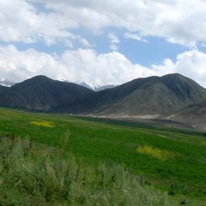 дорога на Иссык-Куль