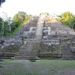 На вершине этой пирамиды мы были...