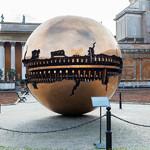 Модель земного шара (Золотой шар)
