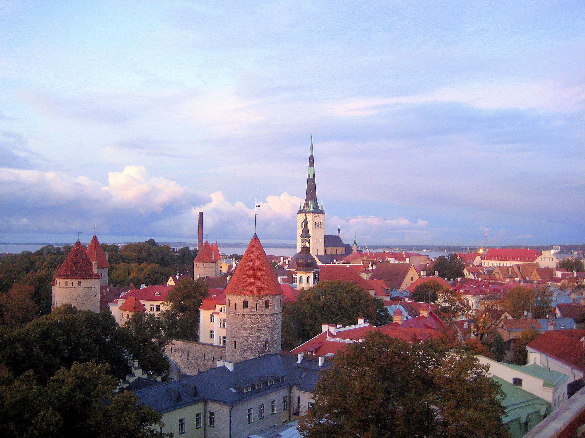 Ах милый Таллин, добрый Старый Таллин!