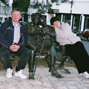 Наташа Рабей и Слава Коневский