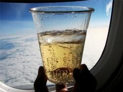 МВД предлагает на время полета изымать у пассажиров напитки из duty free
