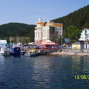 Листвянка - порт на Байкале