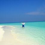 Песчанные банки в открытом море. Здесь невероятно красиво и совершенно безлюдно!