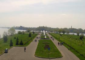 Ярославские фонтаны. Стрелка. Часть 1