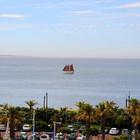 Вид из окна номера отеля Тэйбл Бэй