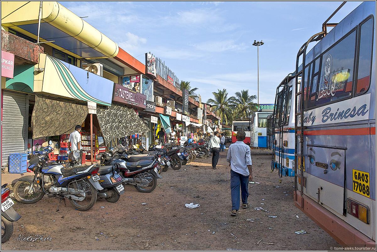 С чистотой во всей Индии — большая проблема. Гоа — это, на самом деле, очень чистый штат. Дальше вы в этом убедитесь. Таких свалок, как в Дели, я не видел нигде..., Поездка в Мапусу (Гоа, Индия)