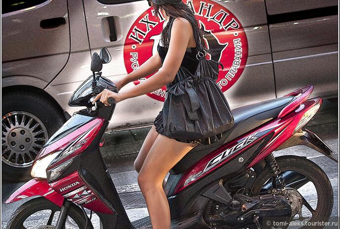 Многие тайские девчонки, действительно, как куклы. И все - миниатюрные...