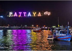 4 Сиамский залив ночью (Таиланд)