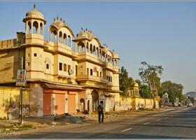 Утро Розового Города (Джайпур, Индия)