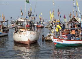 Рыбаки Бомбея (Индия)