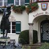 Маленький Моцарт перед ратушой в сант Гильгене