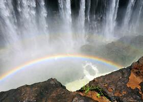 Зимбабве. Водопад Виктория.