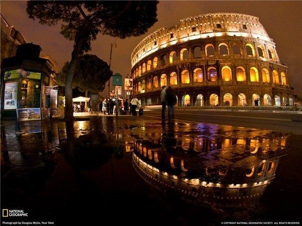 """Фото из альбома """"Ночной Рим"""", Рим, Италия"""