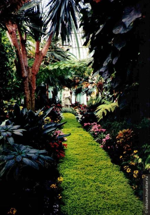 Открыты Цветочные оранжереи в летней резиденции короля!