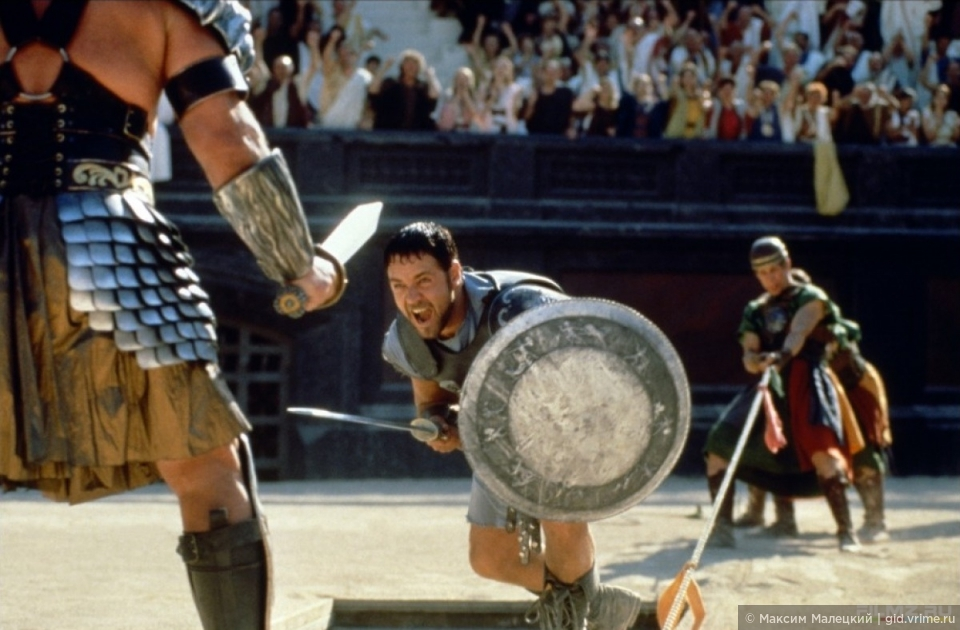 Гладиаторы Колизея