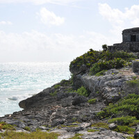Мексика. Тулум. Карибское море и синоты