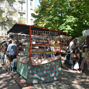 Блошиный рынок в Сан Тельмо