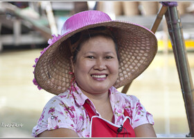 7 Плавучий рынок и его обитатели (Таиланд)