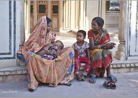 Дворец Ветров в сердце Джайпура (Индия)
