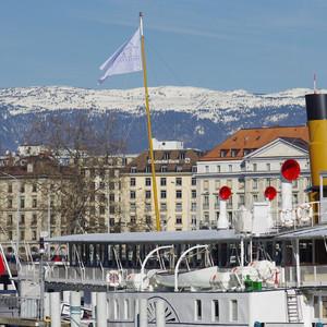Женева, весна, апрель 2013