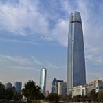 Самый высокий небоскреб Латинской Америки Costanera Center
