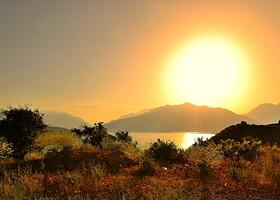Где то в горах Чимгана.