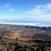 Вид на Ла-Кальдеру с высоты 3555 м.