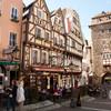 Линц-на-Рейне с Рейнскими воротами и фахверковыми домами 18 века.