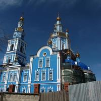Строящийся Вознесенский собор