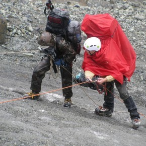 Восхождение на Казбек, С. Осетия — июль 2012