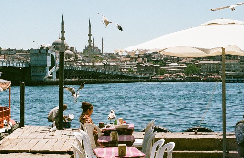 "Фото из альбома ""Люди, лестницы, море и тени Стамбула"", Стамбул, Турция"