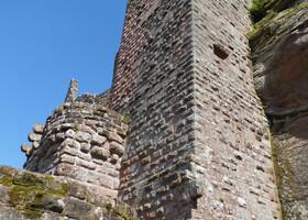 Крепость Флекенштайн.